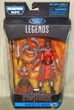 "NAKIA Marvel Legends Okoye Build-A-Figure Black Panther Movie 6"" Action Figure"