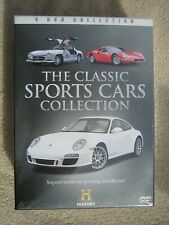 The Classic Sports Cars Collection - 4 DVD Box Set - New and Sealed - FREEPOST