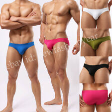Upgraded Men Comfy Boxer Brief Underwear Soft Shorts Silky Briefs Stretchy Pants
