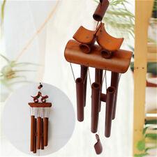 """24"""" Bamboo Wood Wind Chimes Outdoor Indoor Bells Garden Decoration  HOT"""