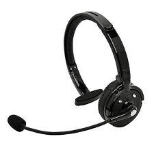 Universal Wireless Mono Bluetooth Headphone Headset Earphone With Mic For PS3 PC