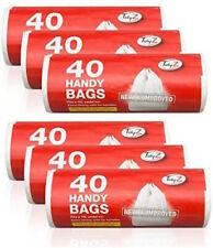 6 x Tidyz Handy Bags With Tie Handle Roll of 40  [0003]
