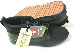 Vans Men's Sk8-Hi Del Pato MTE All Weather Boots Black Grape Leaf Size 13 NWT