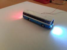 1 Stk.Modellautos/Busse LED-Beleuchtet blau1-Metall Spur N - 12 Volt-Neu