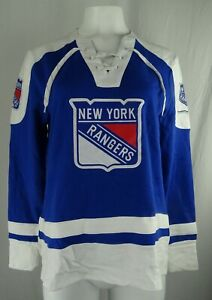 New York Ranger NHL Majestic Women's Lace-Up Sweatshirt