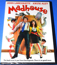 NEW OLIVE FILMS KIRSTIE ALLEY JOHN LARROQUETTE MADHOUSE COMEDY MOVIE DVD 1990