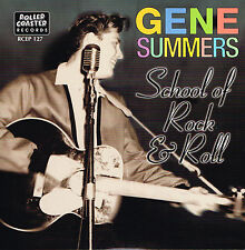 GENE SUMMERS - FANCY DAN + SCHOOL OF R'N'R + STRAIGHT SKIRTS + 1 (ROCKABILLY EP