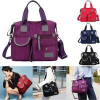 Women Lady Waterproof Nylon Shoulder Messenger Bag Large Capacity Crossbody Bags