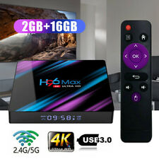 SMART TV Box H96MAX HD Android 9.0 2+16G DUAL RK3318 WIFI 4K 3D Lettore multimediale