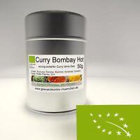 Bio Curry Bombay Hot 50g im Streuer Gewürzkontor München