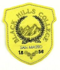 Applikation zum Aufbügeln Bügelbild  3-924 Black Hills College