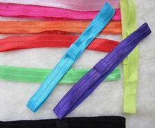 Wholesale 10PCS Baby Headband Girl Women Hair Band FOE Elastic Stretchy Kids FT