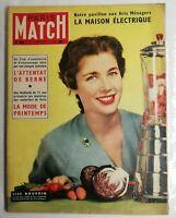 N170 Magazine Paris-Match No No 309 26 To 5 Feb Mars Lise Bourdin, Spy