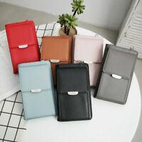 Women Small Cross-body Cell Phone Case Pouch Handbag Purse Wallet Shoulder Bag