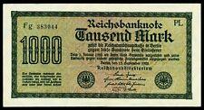 DEUTSCHLAND. GERMANY. 1000 Mark 15.9.1922. Ro. 75b. VORZÜGLICH+.