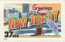 US 3725 Greetings from New Jersey 37c single MNH 2002