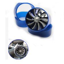 Supercharge Turbo Single Jet Blade Tornado Jdm Blue Eco Gasfuel Saver Fan Kit