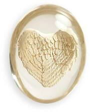 GUARDIAN ANGEL WINGS Worry Stone -AMAZING DETAIL!- Give Your Dreams Wings To Fly