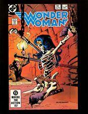 Wonder Woman #298 Vf+ Frank Miller Giordano Colan Staton Huntress Blackwing