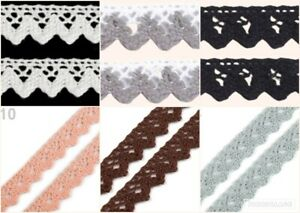 Bobbins Lace From Cotton Width 15 MM (1,26 €/M)