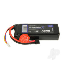 Radient LiPo Battery 3S 5400mAh 11.1V 20C Deans HCT T-style Connector