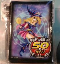 50 Yugioh Small Size Card Sleeves Deck Protector - Dark Magician Girl