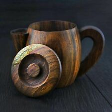Traditional Vintage Classic Wooden Old Style Shaving MUG / Bowl for Hot Water