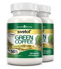 Pure Svetol Green Coffee Bean 50% CGA Diet 120 Capsules Evolution Slimming