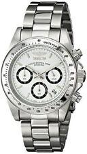 Invicta Speedway Men Chronograph 40mm Quartz Stainless Steel Watch 9211 Case