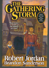 The Gathering Storm by Robert Jordan 1st Edition 2009 signed