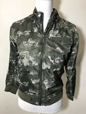 MEMBERS ONLY jacket youth size 10/12 CAMO BOYFRIEND BOMBER JACKET new