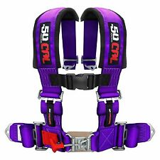 4 Point Safety Harness 2 Inch Seat Belt Sand Rail Dune Buggy Jeep Crawler PURPLE