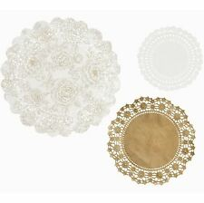 TALKING TABLES PAPER DOILIES WEDDING ANNIVERSARY BUFFET PARTY TABLEWARE