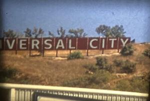 "READ 1960s Disneyland Universal Studios Vacation 8mm 5"" Color Amateur Home Movie"