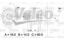 VALEO Alternador para SEAT IBIZA LEON CORDOBA VW GOLF PASSAT AUDI A4 437341
