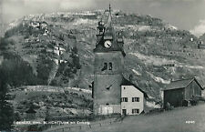 AK aus Eisenerz, Schichtturm mit Erzberg, Steiermark    (B8)