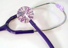 Purple Awareness Stethoscope With Awareness Diaphragm