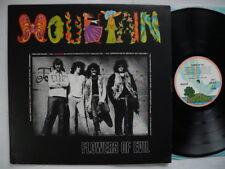 MOUNTAIN Flowers Of Evil LP 1971 UK ILPS 9179 pink rim A-10 / B-10 EX