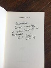 Peter HANDKE La courte lettre 1976 Envoi de G.-A. GOLDSCHMIDT