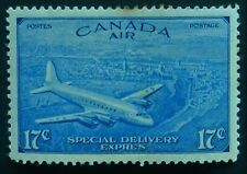 Canada 1946 17c Special Delivery SG S17 Mint lightly hinged Cat £12 toned
