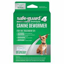 8in1 Safe-Guard Canine Dewormer for Small Dogs 3 Day Treatment