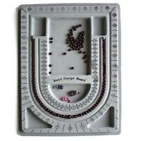 Flocked Beading Bead Board Bracelet Design Tray Jewellery Making Crafts DIY Tool