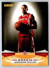 2009-10 Panini Jermaine Taylor RC #332 Houston Rockets
