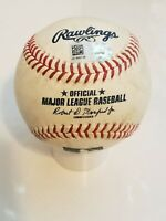 Mike Ford New York Yankees Game Used Official MLB Baseball 4th Career Hit MLB...