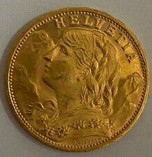 Schweiz 20 Franken L 1935 B  Vreneli , 6,45 Gramm  900 Gold  Coin Switzerland