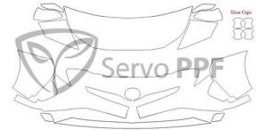 16+ Toyota Prius 3M Scotchgard Pro Series Clear Bra Kit