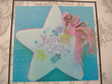 VINTAGE BLISS DESIGNS COUNTED CROSS STITCH KIT-HEAVEN SENT-BABY-STAR STAND UP