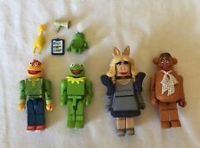 DISNEY Fozzie & Scooter Collectable Figures + KERMIT & MS. PIGGY Mini Mates Lot