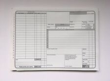 Johns Motorcare Supplies Used Car Vehicle Garage Repair Sales Invoice Pad
