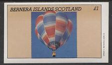 GB Locals - Bernera 2782 - 1982 BALLOONS imperf souvenir sheet  unmounted mint